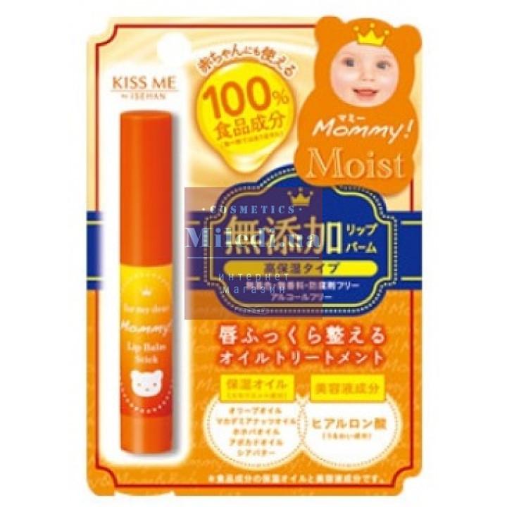 Бальзам-стик для губ увлажняющий Мамочка - Isehan Mommy Moist Lip Balm Stick