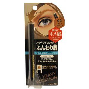 Карандаш для бровей, шт - Isehan Heavy Rotation Quick Powder Eyebrow