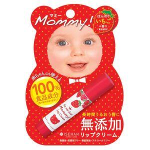 Помада гигиеническая Мамочка S (Клубничная) - Isehan Mommy Lip Cream