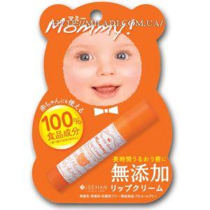 Гигиеническая помада Мамочка, 4гр - Isehan Mommy Lip Cream