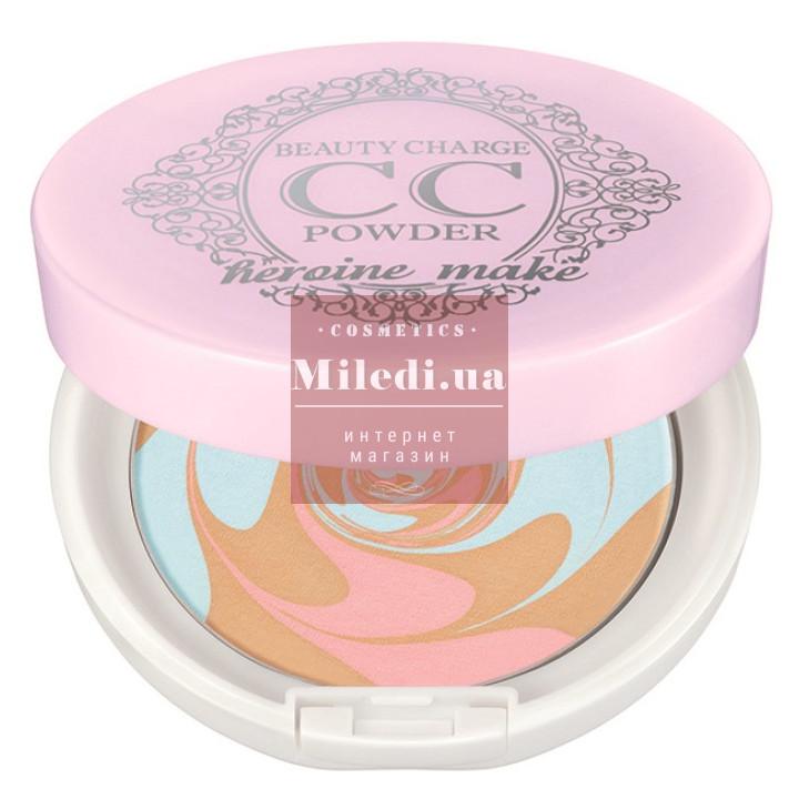 CC пудра для лица - Isehan Heroine Make Beauty Charge CC Powder SPF25 PA++