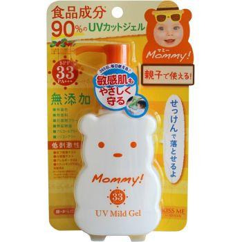 Гель мягкий солнцезащитный Мамочка SPF-30 - Isehan Mommy UV Mild Gel