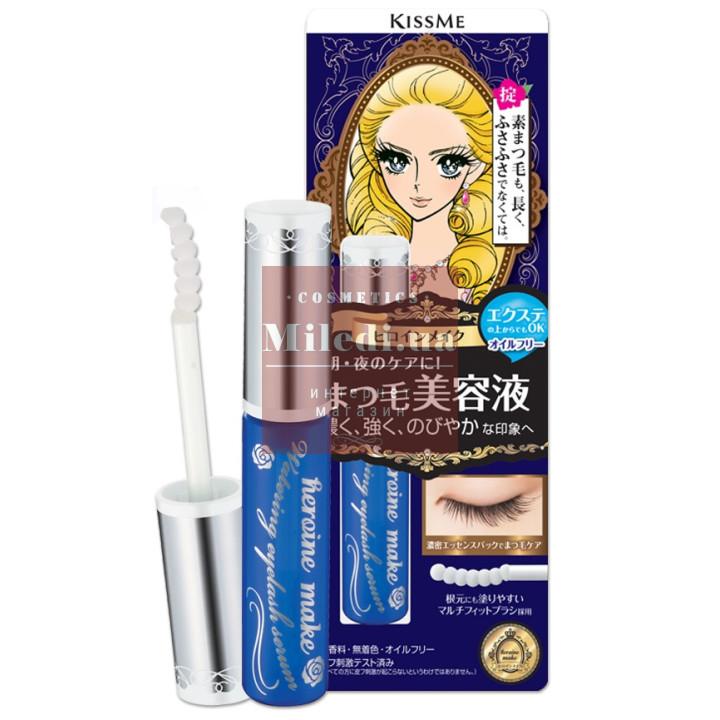 Увлажняющая и восстанавливающая сыворотка для ресниц - Isehan Heroine Make Watering Eyelash Serum