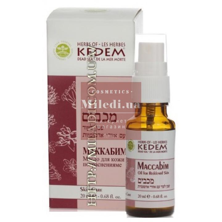 Композиция ароматических масел для восстановления тканей, сосудов и клеток кожи Макабим - Kedem Maccabim