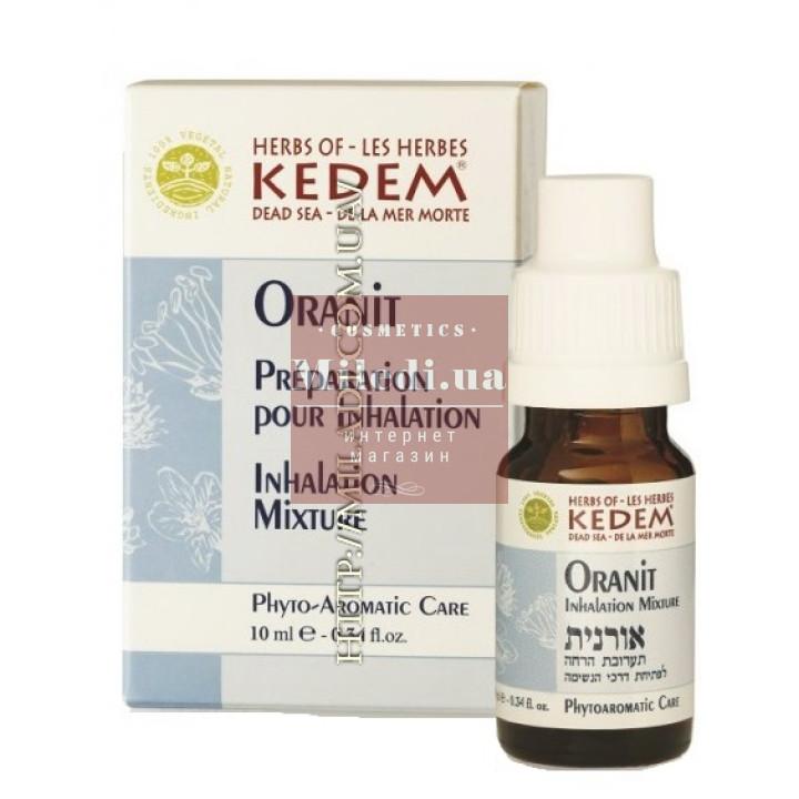 Смесь эфирных масел для профилактики простуды Оранит - Kedem Oranit