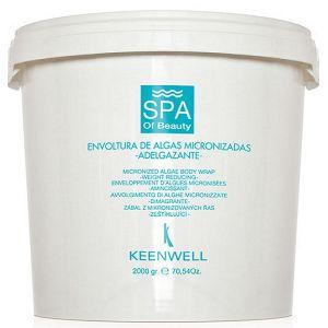 Водоросли для похудения, 2кг - Keenwell Spa of Beauty Micronized Algae Body Wrap Weight Reducing