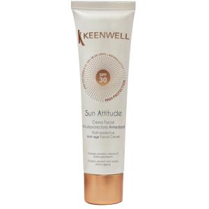 Мультизащитный антивозрастной крем для лица, 60мл - Keenwell Multi-Protective Anti-Age Facial Cream SPF30