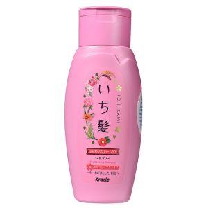 Шампунь для придания объема поврежденным волосам с ароматом граната (Крэси) - Kracie Ichikami Revitalizing Shampoo