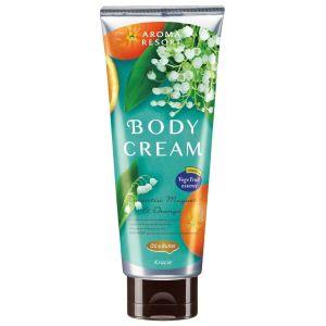 Крем для тела с ароматом ландыша и апельсина - Kracie Aroma Resort Body Cream Lucentia Muguet & Orange