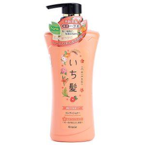 Интенсивно увлажняющий бальзам-ополаскиватель с маслом абрикоса - Kracie Ichikami Moisturizing Conditioner