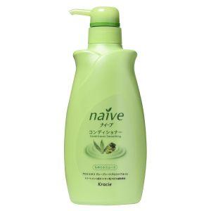 Восстанавливающий бальзам-ополаскиватель для нормальных волос с экстрактом алоэ (Краси) - Kracie Naive Conditioner
