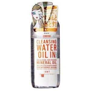 Двухфазное средство для удаления водостойкого макияжа с лица и глаз (Краси) - Kracie Creer Cleansing Water Oil In