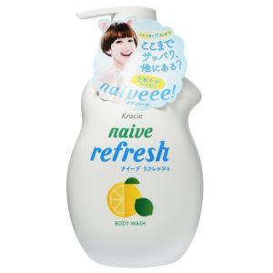 Жидкое мыло для тела с ароматом цитрусовых (Краси) - Kracie Naive Body Wash Refresh