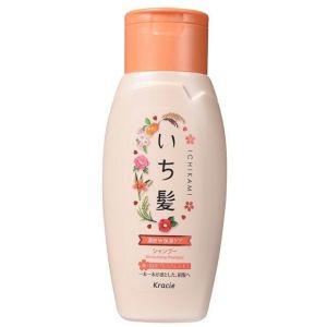 Интенсивно увлажняющий шампунь для поврежденных волос с маслом абрикоса (Краси) - Kracie Ichikami Moisturizing Shampoo