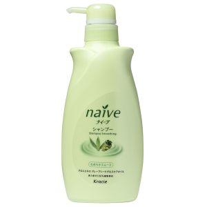 Восстанавливающий шампунь для нормальных волос с экстрактом алоэ и маслом виноградных косточек (Крэси) - Kracie Naive Shampoo
