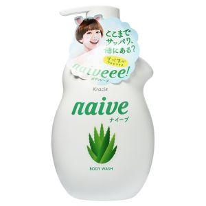 Жидкое мыло для тела с экстрактом алоэ (Краси) - Kracie Naive Body Wash Aloe