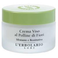 Крем увлажняющий с цветочной пыльцой - L`Erbolario Crema Viso al Polline di fiori