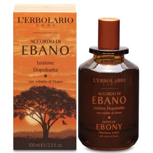 Лосьон после бритья Черное дерево, 100мл - L'Erbolario Lozione Dopobarba Accordo di Ebano