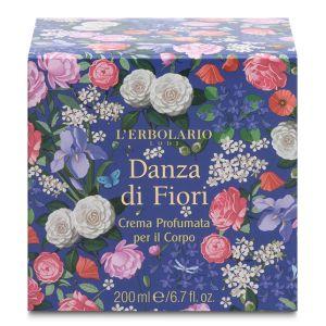 Крем для тела Вальс цветов, 200мл - L`Erbolario Crema Profumata per il Corpo Danza di Fiori