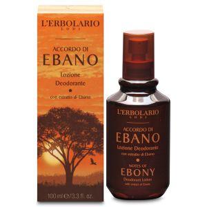 Дезодорант Черное дерево, 100мл - L'Erbolario Lozione Deodorante Accordo di Ebano