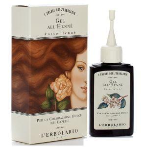 Красящий гель для волос с хной Рыжая хна - L`Erbolario Gel All Henne