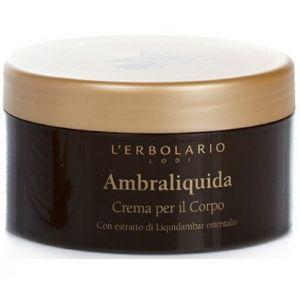 Крем для тела Амбровое дерево, 250мл - L`Erbolario Ambraliquida Crema per il Corpo