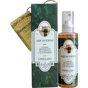 Дезодорант-лосьон Свежесть, 100мл - L`Erbolario Aquaverde Lozione Deodorante Alla Betulla