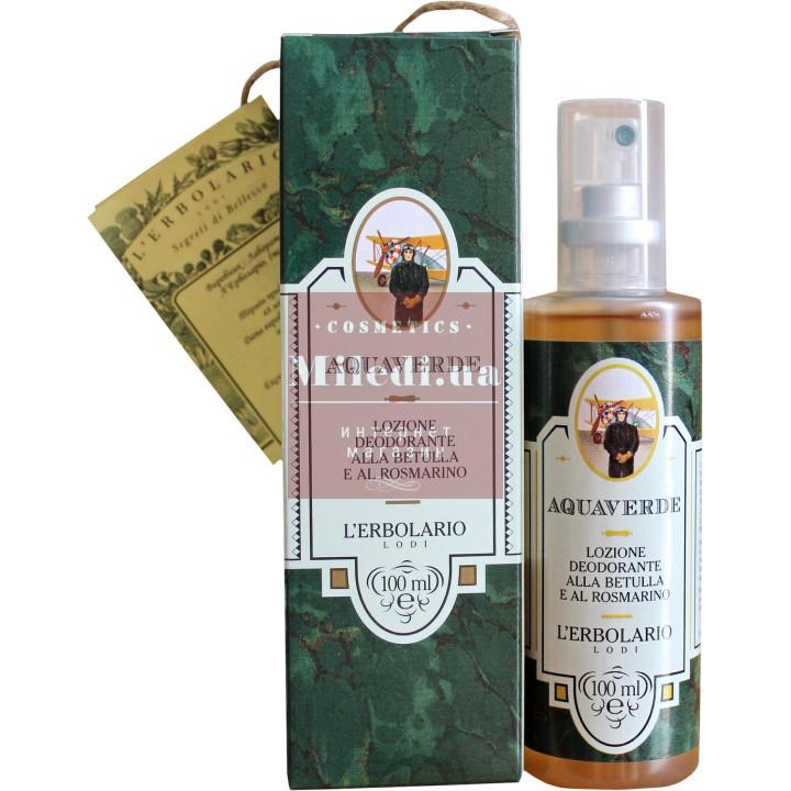 Дезодорант-лосьон для тела Свежесть - L`Erbolario Aquaverde