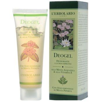 Дезодорант-гель с водяной мятой и витамином Е, 50мл - L`Erbolario Deogel alla Menta Acquatica & alla Vitamina E