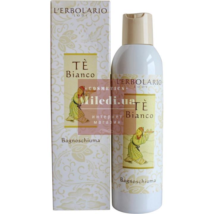 Гель для душа Белый чай - L`Erbolario Te` Bianco Bagnoschiuma