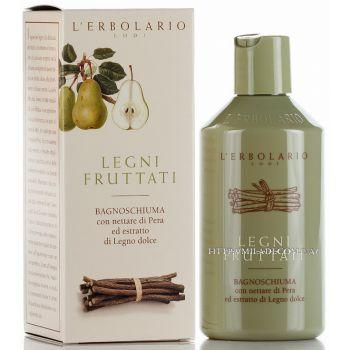 Пена для ванны / Гель для душа Фрукты и коренья - L`Erbolario Legni Fruttati Bagnoschiuma