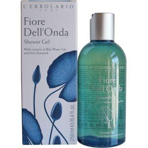 Гель для душа Голубой лотос, 250мл - L`Erbolario Bagnoschiuma Fiore Dell'Onda