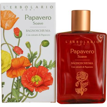 Пена для ванны / Гель для душа Сладкий мак - L`Erbolario Papavero Soave Bagnoschiuma