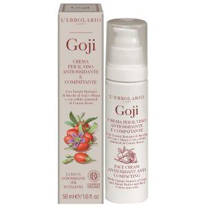 Антиоксидантный органик крем Годжи (Лерболарио) - L`Erbolario Goji Organic Crema per il Viso Antiossidante e Compattante