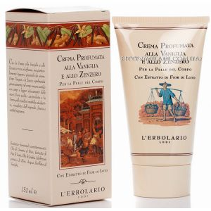 Крем ароматизированный для тела Ваниль и имбирь - L`Erbolario Vaniglia & Zenzero Crema Corpo