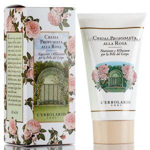 Крем для рук Роза, 75мл - L`Erbolario Crema Nutriente per le Mani al Profumo di Rosa con Estratto di Rosa