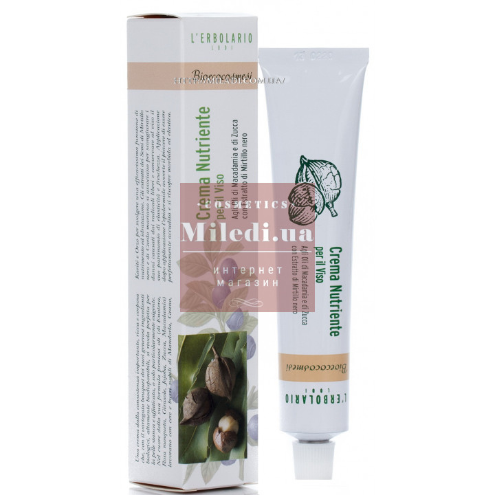 Крем ночной питательный Bio-Eco - L'Erbolario Crema Nutriente per il Viso
