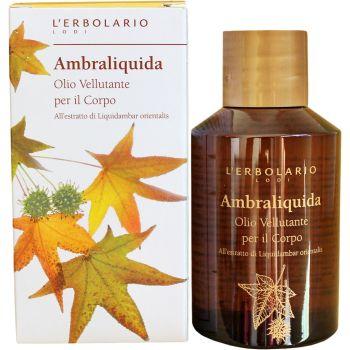 Масло шелковистое для тела Амбровое дерево - L`Erbolario Ambraliquida Olio Vellutante Corpo