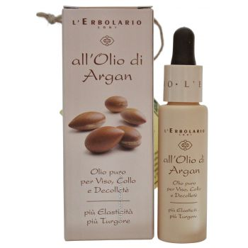 Масло Аргании  для лица, шеи и декольте - L`Erbolario Olio di Argan Olio Viso Collo e Decollete