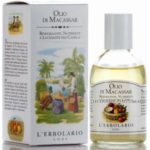Масло для волос Макассар, 100мл - L`Erbolario Olio di Macassar