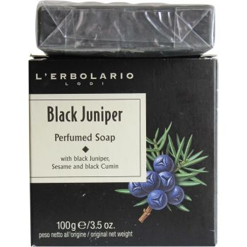 Мыло ароматизированное для тела Черный можжевельник - L'Erbolario Ginepro Nero Sapone Profumato
