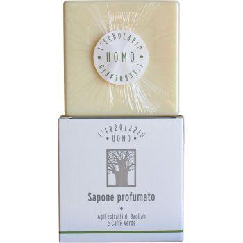Мыло натуральное душистое для тела Баобаб - L'Erbolario Uomo Baobab Sapone Profumato