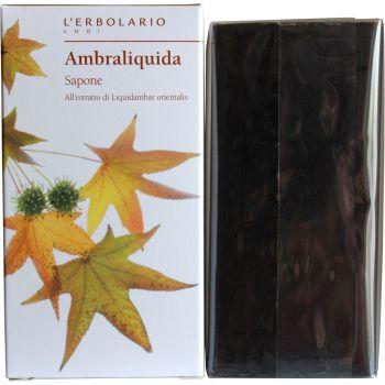 Мыло натуральное душистое для тела Амбровое дерево - L`Erbolario Ambraliquida Sapone