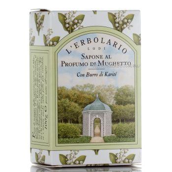 Мыло натуральное душистое для тела Ландыш - L`Erbolario Sapone al Profumo di Mughetto