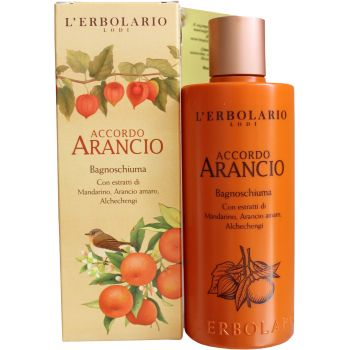 Пена для ванны Физалис Лерболарио - L`Erbolario Accordo Arancio Bagnoschiuma