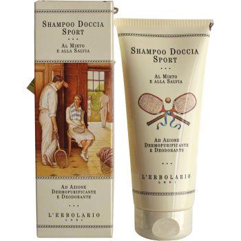 Шампунь-средство для душа Спорт - L`Erbolario Shampoo Doccia Sport