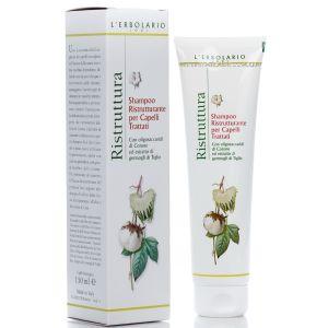 Шампунь для восстановления структуры окрашенных волос -  L`Erbolario Shampoo Ristrutturante per Capelli Trattati