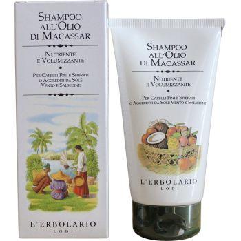 Шампунь на базе масла Макассар - L`Erbolario Shampoo all'Olio di Macassar