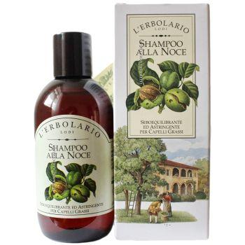Шампунь с перегородками грецкого ореха - L`Erbolario Shampoo alla Noce