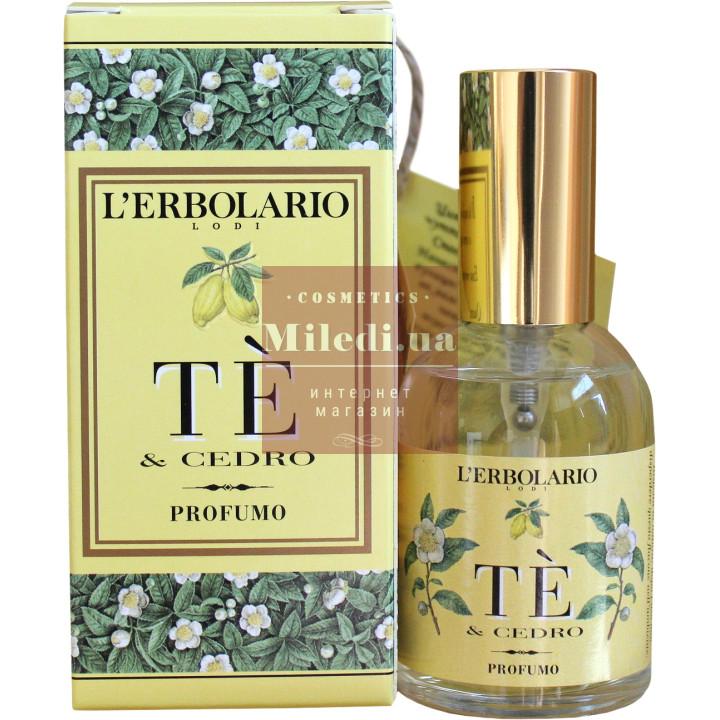 Парфюмированная вода Чай и цитрон - L`Erbolario Acqua di Profumo TE E Cedro